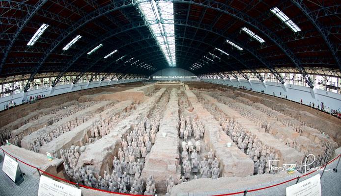 Mausoleum Qin Shihuangdis - Terrakotta-Armee