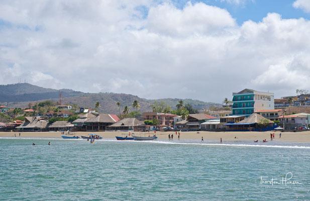 Der Pazifikstrand von San Juan del Sur im Südwesten Nicaraguas