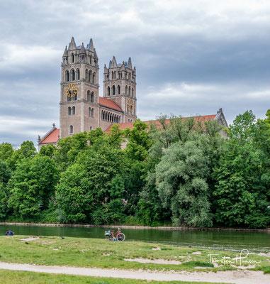 Die Kirche St. Maximilian im Glockenbachviertel, wurde am 6. Oktober 1901 eingeweiht.