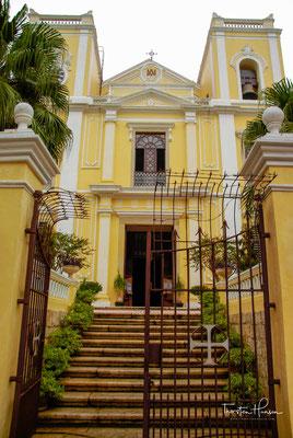 St. Lawrence Kirche in Macau