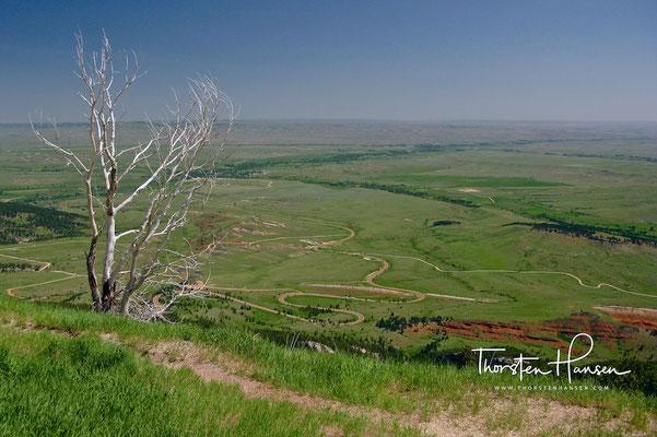 Landschaft beim Devil Tower