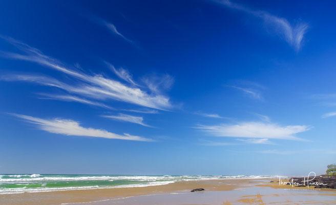 Fraser Island - mit einer Fläche von 1840 Quadratkilometer ist sie die größte Sandinsel der Welt.