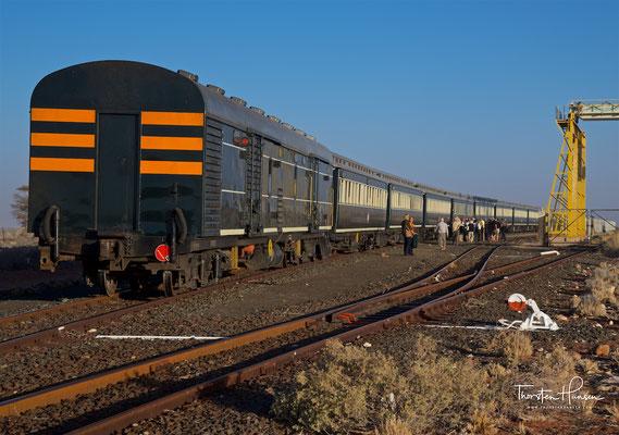 Mit dem African Explorer / Shongololo Train in Aus