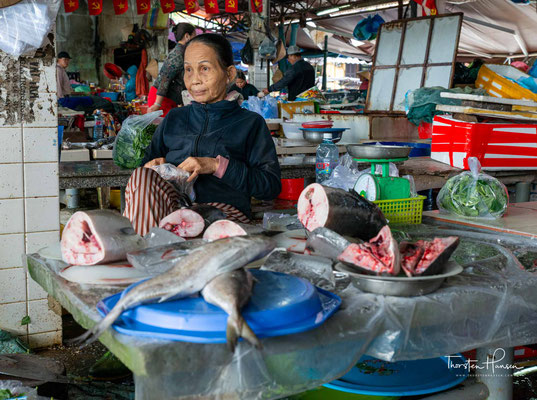 Fischmarkt in Hoi An