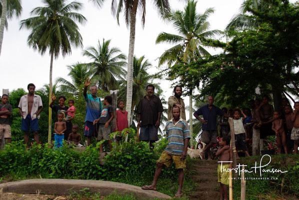 Abschied von unseren Freunden aus dem Dorf Korogo