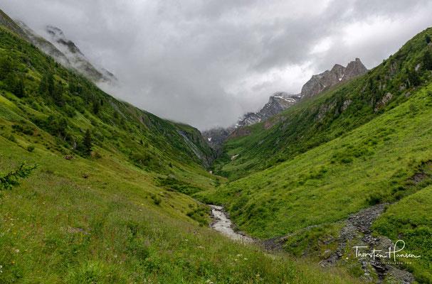 Der Gliderbach im gleichnamigen Tal