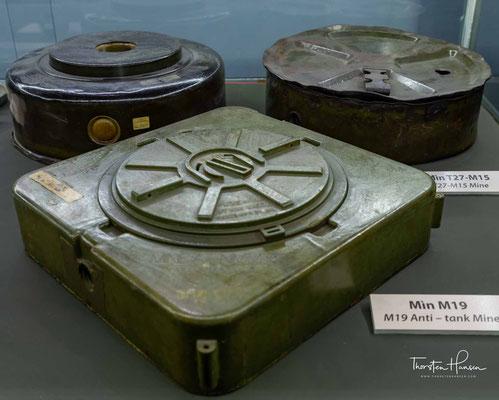 Mienen aus dem Vietnamkrieg