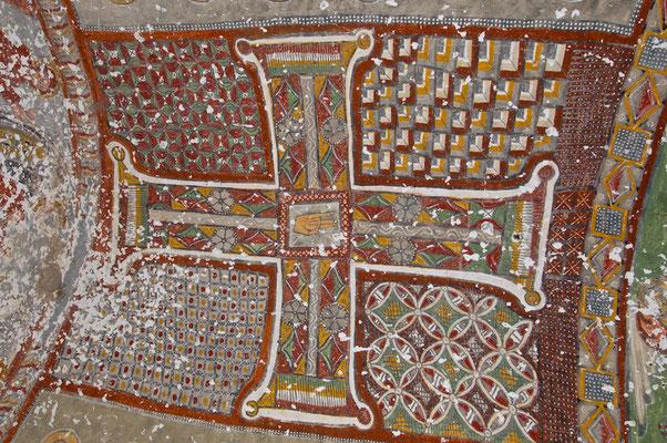 Malerei  in der  Purenliseki Kirche im Ihlara Tal