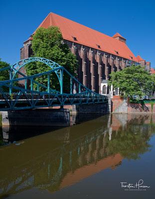 Dombrücke und Dom in Breslau