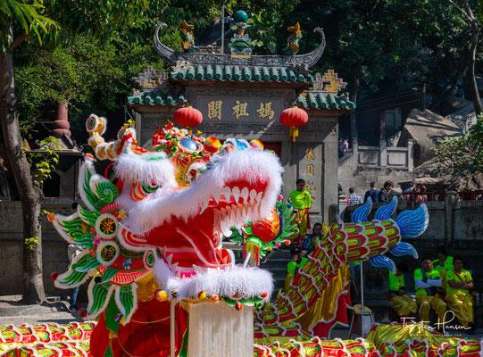 Der A-Ma-Tempel ist ein Tempel der chinesischen Seegöttin Mazu in São Lourenço, Macao, China. Der 1488 erbaute Tempel ist einer der ältesten in Macau und gilt als Namensgeber der Siedlung.