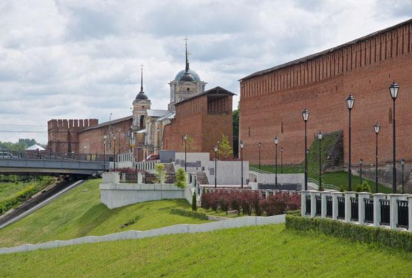 Die Mauern des Smolensker Kremls