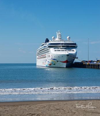 Mit der Norwegian Star in Puntarenas, einer Hafenstadt im Westen des mittelamerikanischen Staates Costa Rica