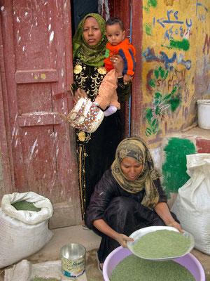 Nubische Frau
