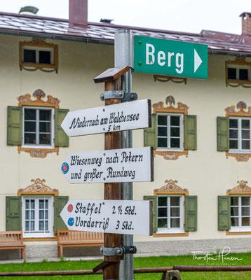 Heute geht es von Jachenau über die Grenze ins österreichische Hinterriß