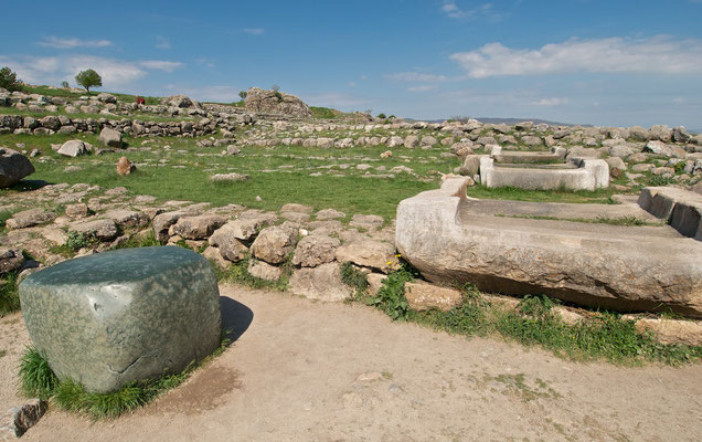 Großer Tempel in Hattuscha