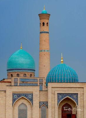 Damals trug das Bauwerk den Namen des Herrschers Navrus Achmed mit dem Beinamen Barak Chan. Die künstlerische Gestaltung des Portals ist für Taschkent nicht charakteristisch.