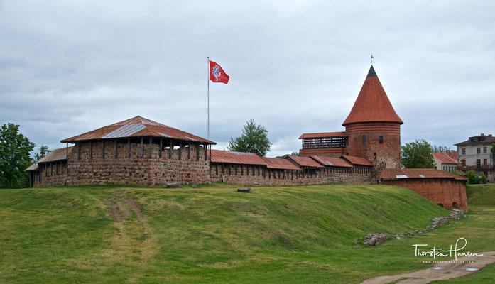 Ruine der Burg Kaunas