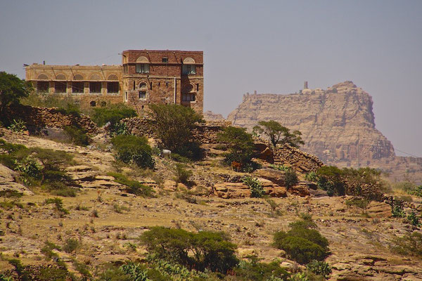 Schibam Kaukaban - Zwillingsstadt im Jemen