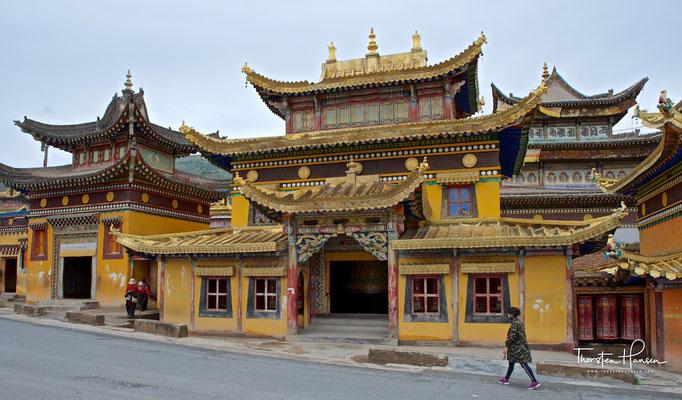 Das Longwu-Kloster bzw. Rongwo Gompa