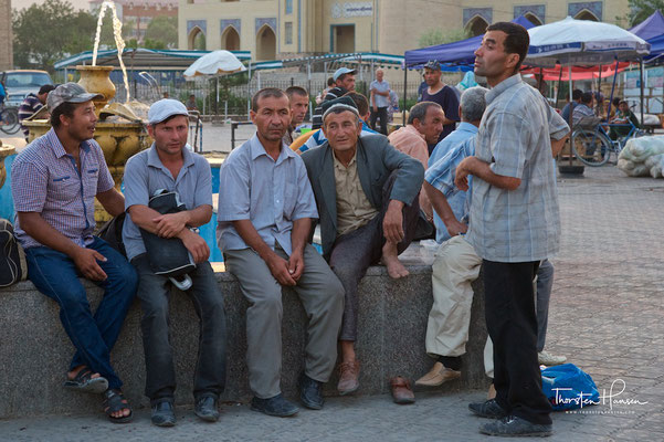 Panjshanbe Markt in Chudschand