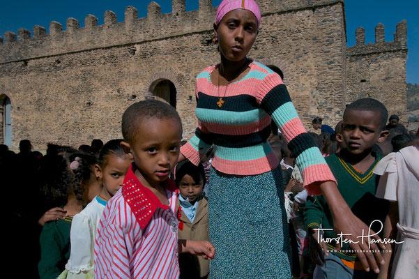 Alte Königsstadt in Gondar