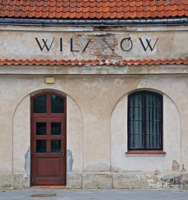 Der alte Bahnhof von Wilanów