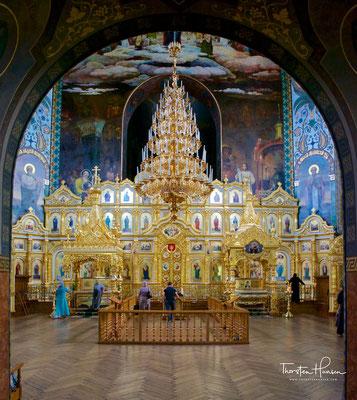 Das Kloster auf dem Kudrjawez-Hügel wurde 1889 von Großfürstin Alexandra Petrowna Romanowna, einer deutschen Prinzessin und Schwägerin von Zar Alexander II. gegründet.