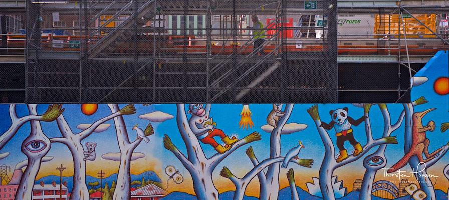 Baustellenverkleidung in Sydney