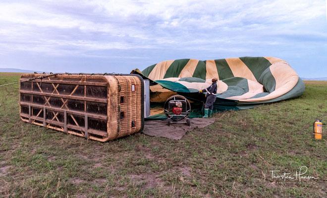 Serengeti Balloon Safaris war das erste Unternehmen, das mit einem Ballon über der Serengeti gefahren ist