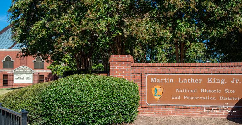 Der bekannteste Sohn der Stadt Atlanta war der Friedensnobelpreisträger Martin Luther King.