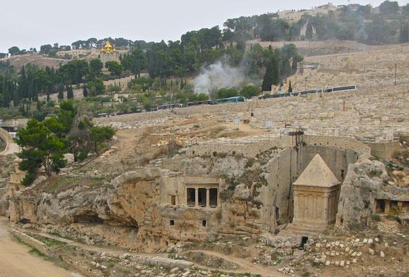 Die Grabanlage des Zacharias