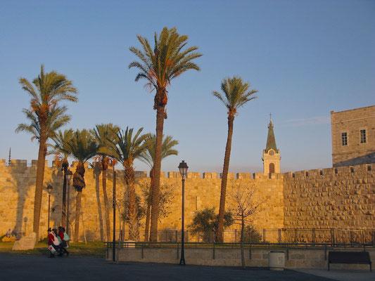 Stadtmauer von Jerusalem