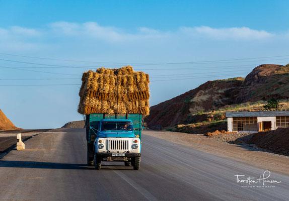 Auf dem Weg zur Grenze von Tadschikistan