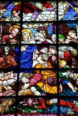 Fenster der Giralda, der Kathedrale von Sevilla