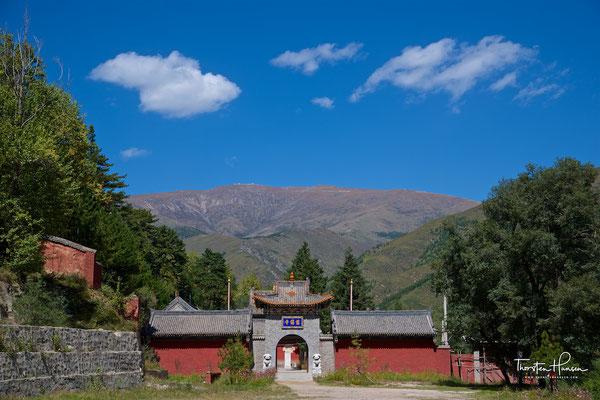 """Taiyuan Si Tempel - Wutai Shan """"Fünf-Terrassen-Berg"""" einer der heiligen Berge des Buddhismus"""