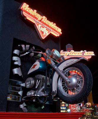 Harley Davidson - Just the famous Las Vegas