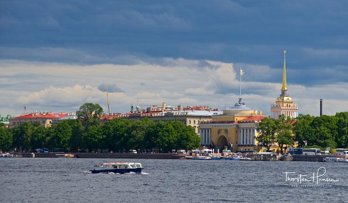 Die Admiralität in St. Petersburg