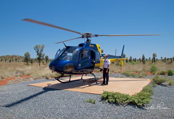Helikopter Rundflug über den Uluru und Kata Tjuta NP