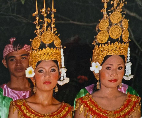 Apsara Tanz im Raffles Grand Hotel d'Angkor