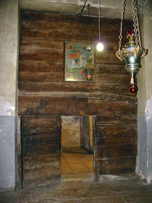 Geburtsgrotte in der Geburtskirche in Bethlehem