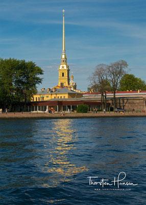 Peter und Paul Festung in St. Petersburg