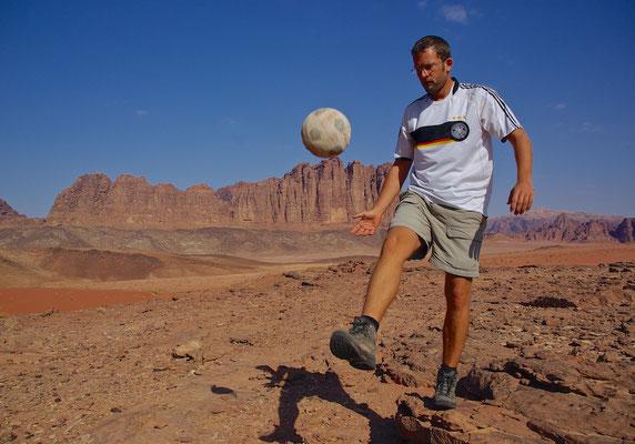 Wüstenfußballer