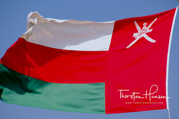Flagge vom Oman