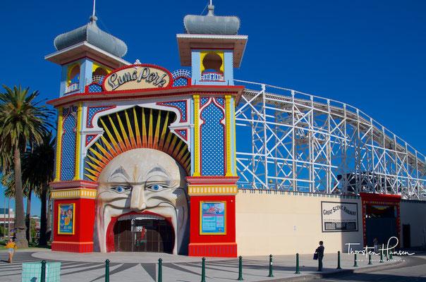 Melbourne Luna Park in St. Kilda