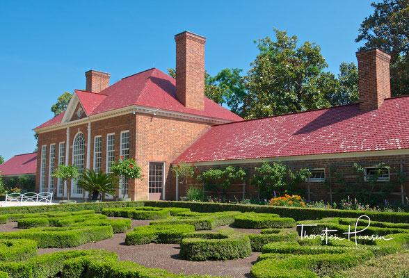 Georg Washingtons Landsitz Mount Vernon in Virginia