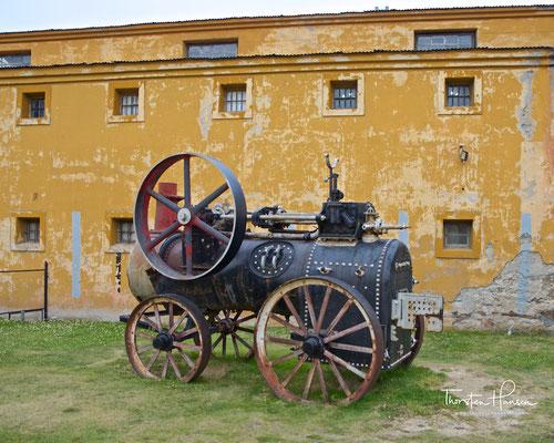 Dampfmaschine im alten Gefängnis von Ushuaia