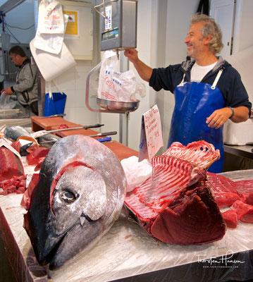 Thunfisch auf dem Markt in Cadiz