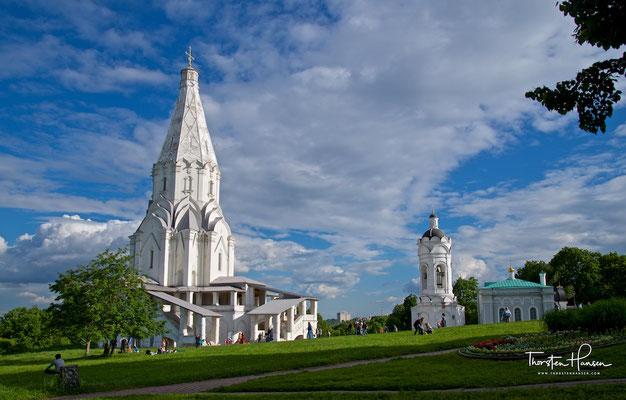Die Christi-Himmelfahrts-Kirche von Kolomenskoje