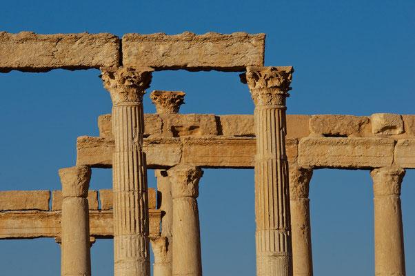 Kolonnadenstrasse in Palmyra