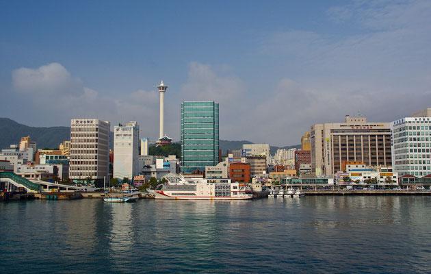 Skyline von Busan